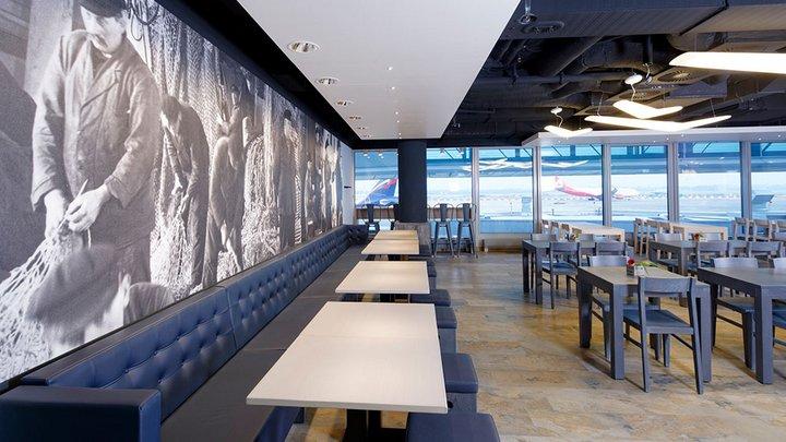 NORDSEE Filialen: Dein Fisch-Restaurant im Düsseldorf Airport, Flughafenstraße 120