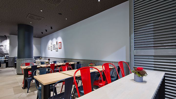NORDSEE Filialen: Dein Fisch-Restaurant in der Drehscheibe Bochum, Kortumstraße 100