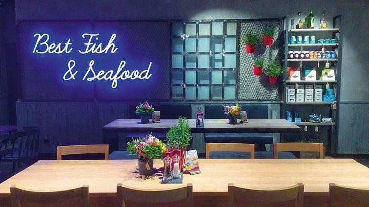 NORDSEE Filialen: Dein Fisch-Restaurant im Gesundbrunnen Center Berlin, Badstraße 4