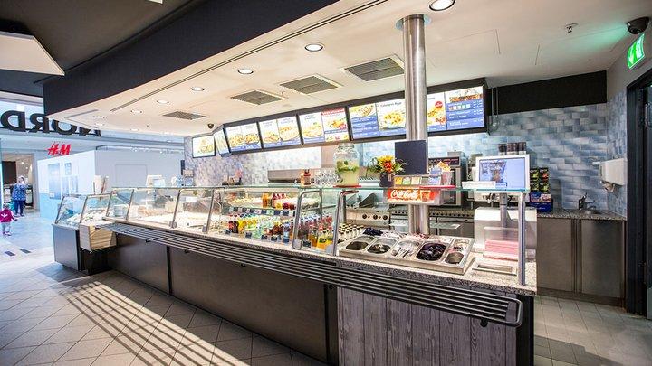 NORDSEE Filialen: Dein Fisch-Restaurant im Phoenix-Center Hamburg, Hannoversche Straße 86