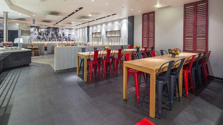 NORDSEE Filialen: Dein Fisch-Restaurant im Münchener Olympia-Einkaufszentrum, Riesstraße 59