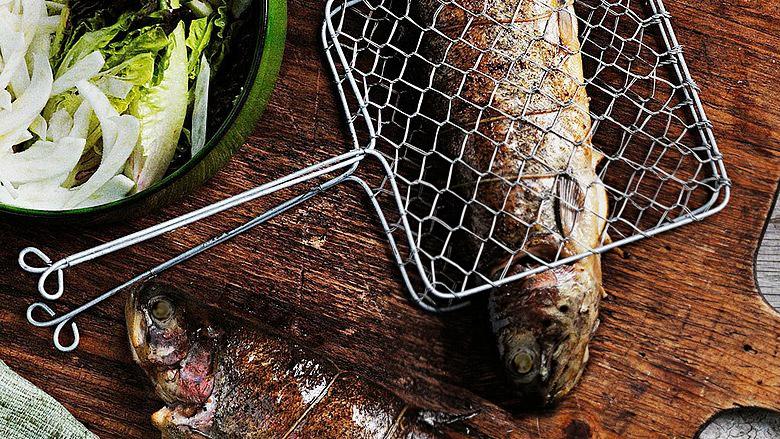 NORDSEE Frischfisch Rezept: Geräucherte Forelle mit Balsamico-Rauchtomaten